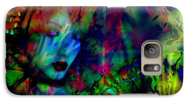 Galaxy Case featuring the digital art Secret Beauty by Diana Riukas