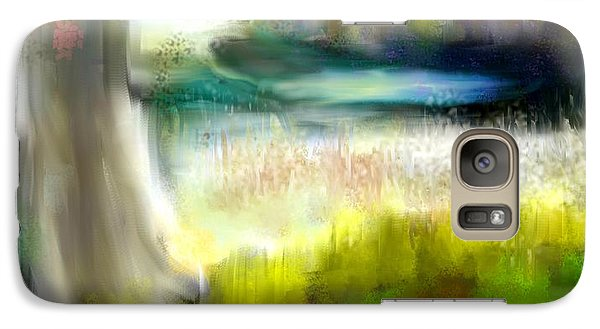 Galaxy Case featuring the painting Secret Fishing Hole by Jessica Wright