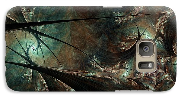 Galaxy Case featuring the digital art Secret Forest by Kim Redd