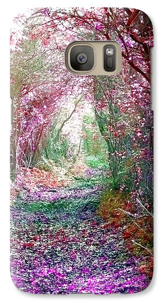 Galaxy Case featuring the photograph Secret Garden by Vicki Spindler