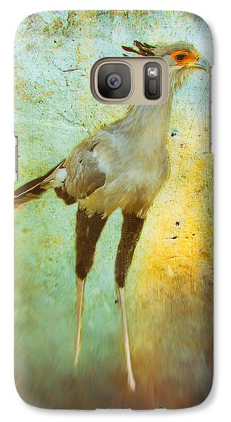 Galaxy Case featuring the photograph Secretary by James Bethanis