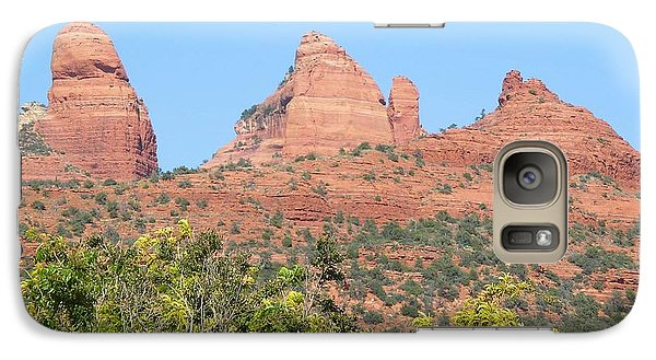 Galaxy Case featuring the photograph Sedona 2 by David Rizzo
