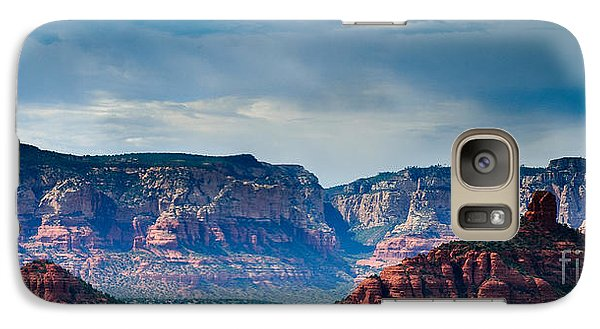 Galaxy Case featuring the photograph Sedona Arizona Panorama by Terry Garvin