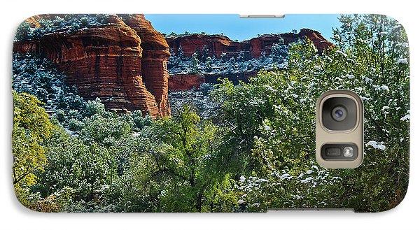 Galaxy Case featuring the photograph Sedona Arizona - Wilderness Area by Bob and Nadine Johnston