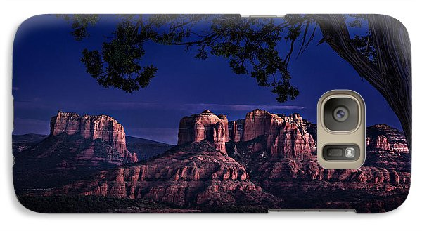 Sedona Cathedral Rock Post Sunset Glow Galaxy S7 Case