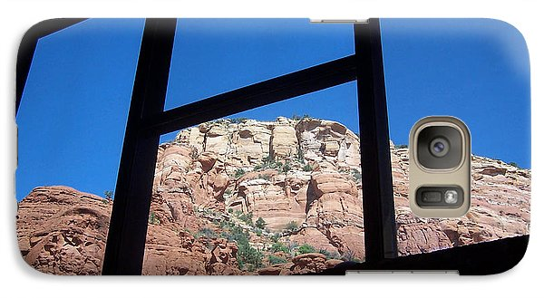 Galaxy Case featuring the photograph Sedona Chapel 4 by Tom Doud