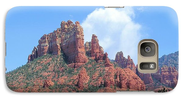 Galaxy Case featuring the photograph Sedona by David Rizzo