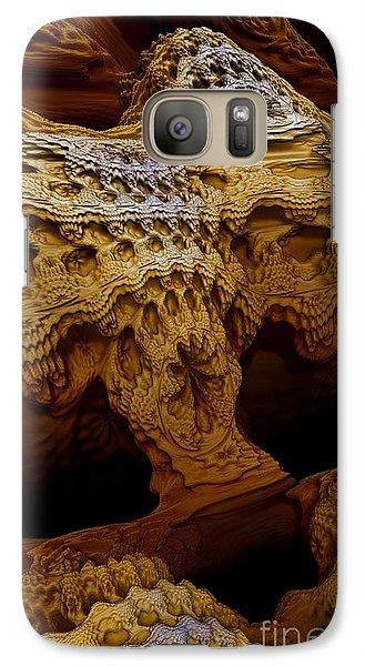 Galaxy Case featuring the digital art Sedona Vortex Inspiration by Steed Edwards