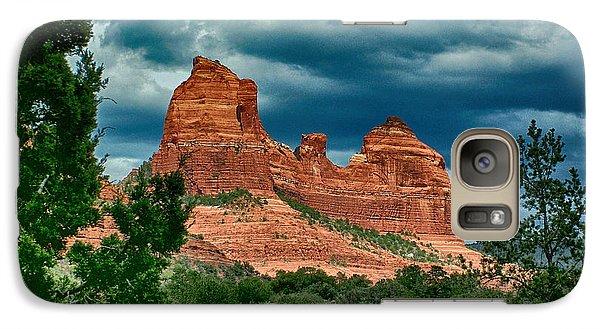 Galaxy Case featuring the photograph Sedonas Snoopy by Kathy Churchman