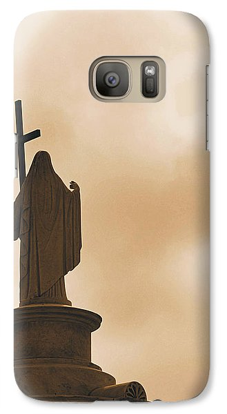 Galaxy Case featuring the photograph Seeking The Divine by Nadalyn Larsen