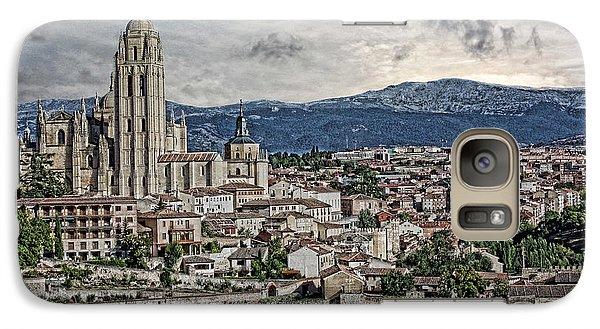 Galaxy Case featuring the photograph Segovia by Angel Jesus De la Fuente