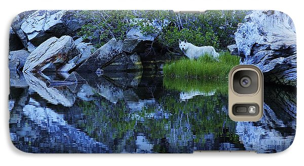 Galaxy Case featuring the photograph Sekani Wild by Sean Sarsfield