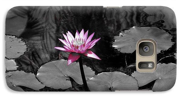Galaxy Case featuring the photograph Selective Lily by Oscar Alvarez Jr
