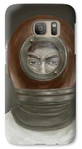 Galaxy S7 Case - Self Portrait by Balazs Solti