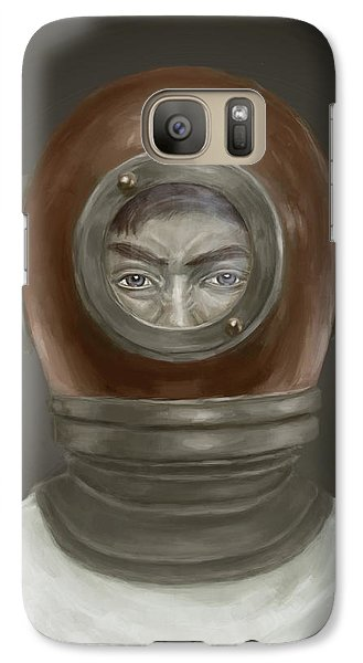 Self Portrait Galaxy Case by Balazs Solti