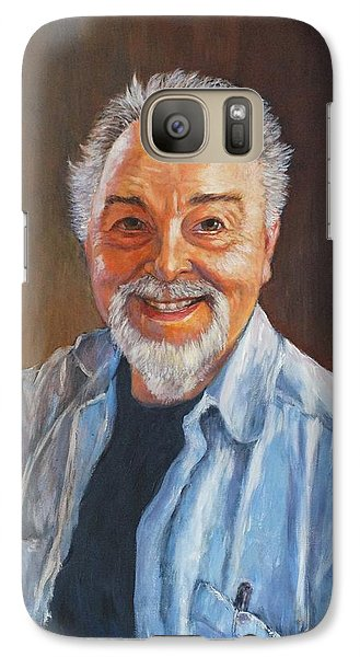 Galaxy Case featuring the painting Death Warmed Over  by Charles Munn