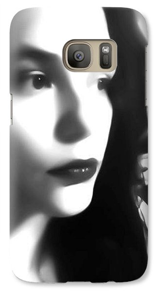 Galaxy Case featuring the photograph Self-portrait For Nancy by Toni Martsoukos