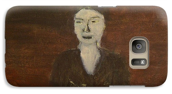 Galaxy Case featuring the painting Self-portrait by Min Zou