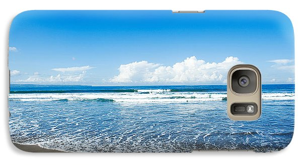 Galaxy Case featuring the photograph Seminyak Beach by Yew Kwang