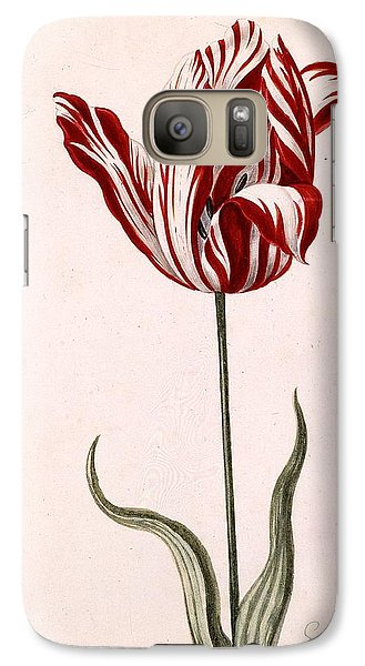 Tulip Galaxy S7 Case - Semper Augustus by Celestial Images