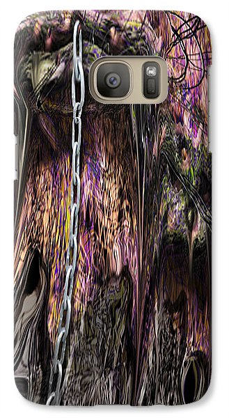Galaxy Case featuring the photograph Sending Walkway by Steve Sperry