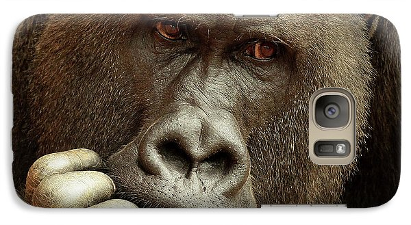 Gorilla Galaxy S7 Case - Sense Of Life ... by Antje Wenner-braun