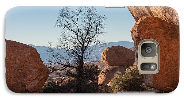 Galaxy Case featuring the photograph Sentinal by Beverly Parks