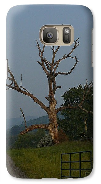 Galaxy Case featuring the photograph Sentinel by Jane Ford