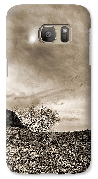 Galaxy Case featuring the photograph Sepia Skies by Meir Ezrachi