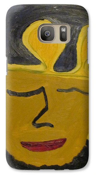 Galaxy Case featuring the painting September  Eleventh  by Shea Holliman