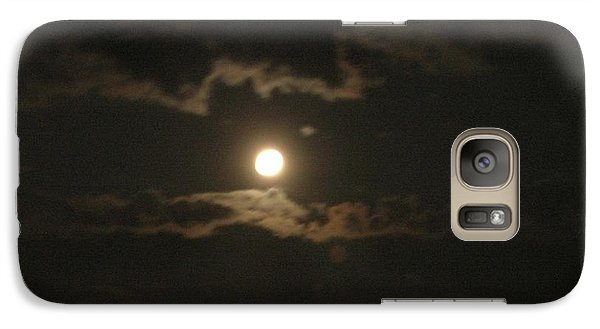 Galaxy Case featuring the photograph September Moonlight by Emmy Marie Vickers