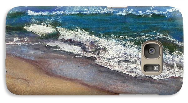 Galaxy Case featuring the painting September On Nantucket by Cindy Plutnicki