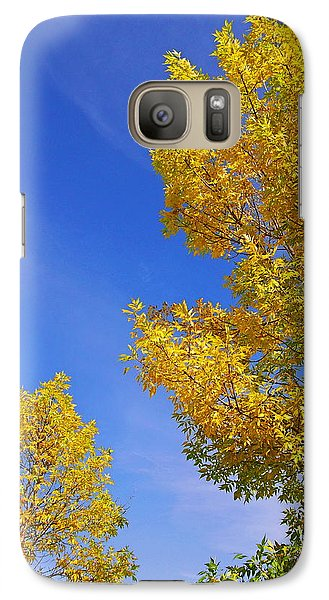 Galaxy Case featuring the photograph September Sky by Debi Dmytryshyn