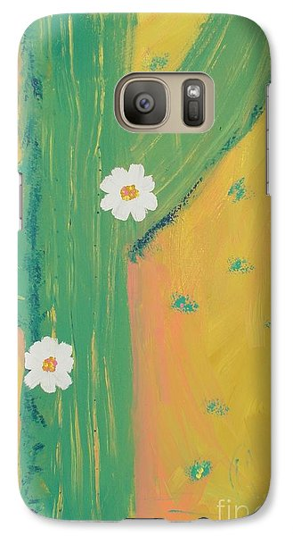 Galaxy Case featuring the painting Sequoia by PainterArtist FINs daughter