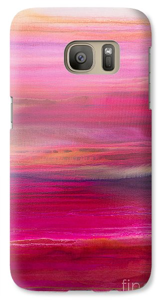 Galaxy Case featuring the painting Serape by Sherry Davis