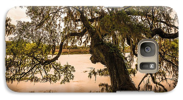 Galaxy Case featuring the photograph Seren Lowcountry by Serge Skiba