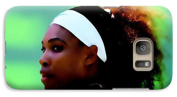 Serena Williams Match Point Galaxy S7 Case