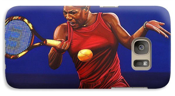 Serena Williams Painting Galaxy S7 Case