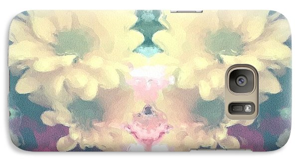 Galaxy Case featuring the photograph Serene Zinnias by Luther Fine Art