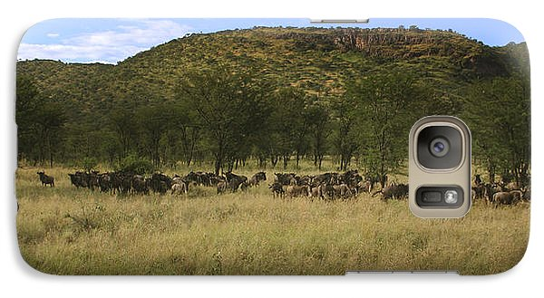Galaxy Case featuring the photograph Serengeti by Joseph G Holland
