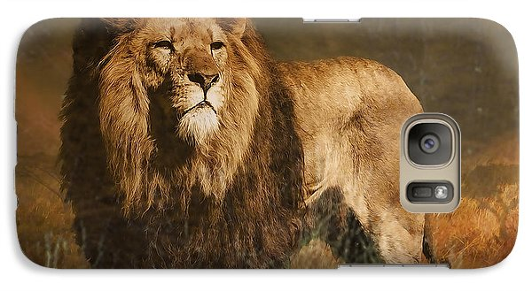 Galaxy Case featuring the photograph Serengeti Sunset by Brian Tarr