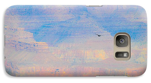 Galaxy Case featuring the photograph Serenity At The South Rim by Cheryl McClure