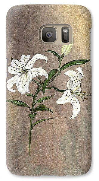 Galaxy Case featuring the painting Serenity by Ella Kaye Dickey