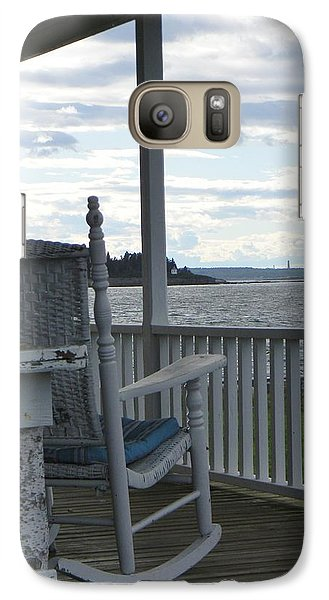 Galaxy Case featuring the photograph Serenity by Jean Goodwin Brooks