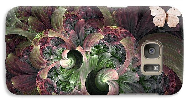 Galaxy Case featuring the digital art Serenity by Lea Wiggins