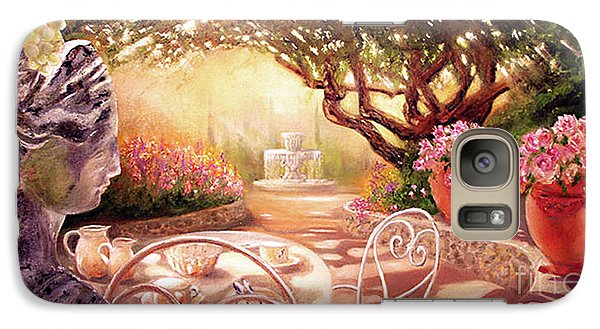 Galaxy Case featuring the painting Serenity by Michael Rock