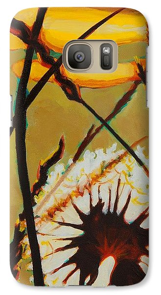 Galaxy Case featuring the painting Serenity Of Light by Janet McDonald
