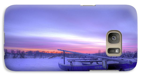 Galaxy Case featuring the photograph Serenity On A Sea Of Snow by Micah Goff