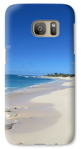 Galaxy Case featuring the photograph Serenity On Grand Turk by Jean Marie Maggi