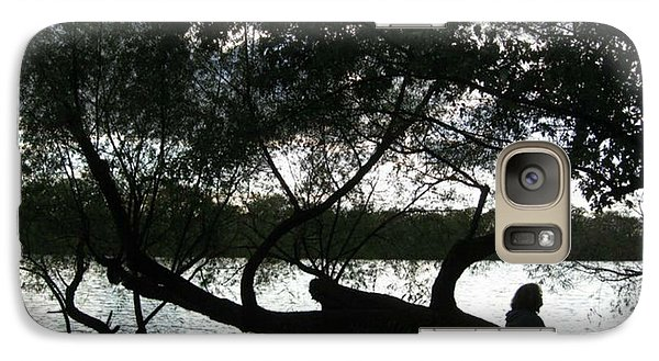 Galaxy Case featuring the photograph Serenity On The River by Digital Art Cafe